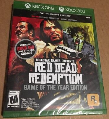 *New* Red Dead Redemption Game of the Year! Undead Nightmare! 360 & Xbox One!