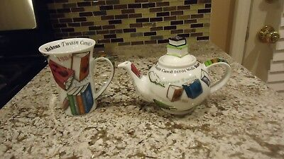 Paul Cardew Novel-Tea Once Upon A Time Teapot & Large Mug