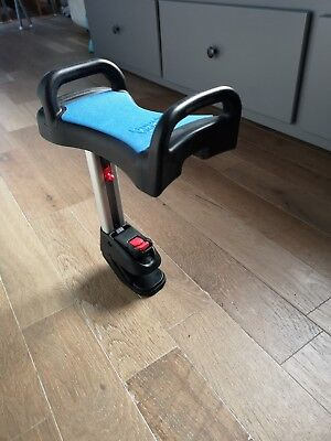 Lascal Saddle / Seat For BuggyBoard Maxi Pushchair / Stroller, blue. New