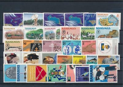[G126403] Bahamas good lot of stamps very fine MNH