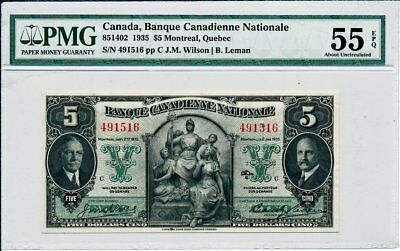 Banque Canadienne Nationale Canada  $5 1935  PMG  55EPQ