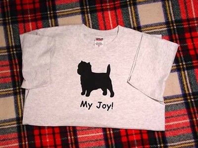 Cairn Terrier Dog My Joy,My Life,My Love! T-shirt SALE Choice of size and color