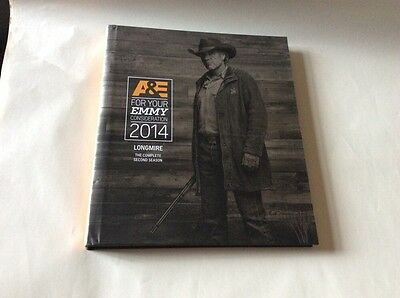2014 LONGMIRE(Complete Second Season) FYC For Your Emmy Consideration DVD's-