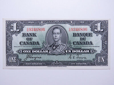 1937 Bank of Canada One Dollar