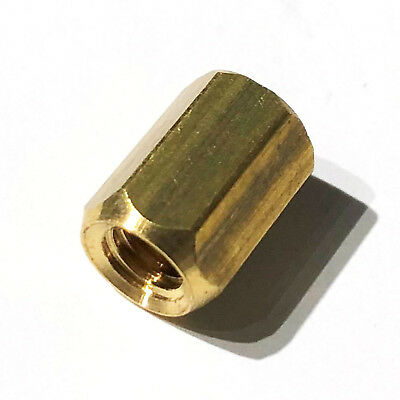 Brass guitar truss rod nut  10/32 UNF
