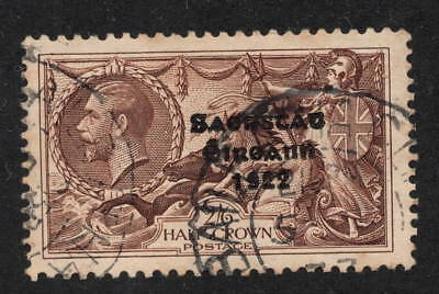 Ireland. 1922. SG64. 2s 6d brown Seahorse. CDS used. Cat £70.