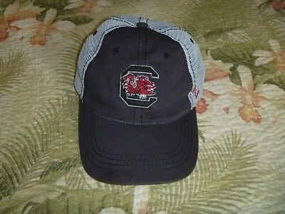 3fae4656e69 ... official south carolina gamecocks football baseball cap hat snapback mesh  usc zephyr cock 54bd3 84573