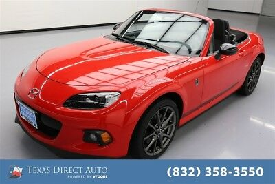 2014 Mazda MX-5 Miata Club Texas Direct Auto 2014 Club Used 2L I4 16V Manual RWD Convertible Premium