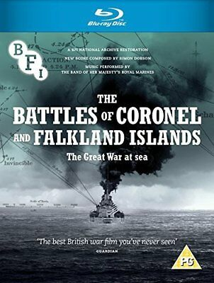 BATTLES OF CORONEL AND THE FALKLAND ISLANDS Blu-ray BFI UK NEW