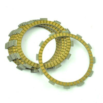 8pc Moto  Engine Friction Clutch Plates For GSX600F 1988-2006 GSX750F 1988-2006