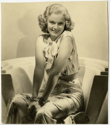 Jean Harlow 1930s Vintage Golden Age of Hollywood Art Deco Glamour Photograph