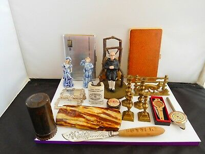 Nice Job Lot Of Antique / Vintage Collectables