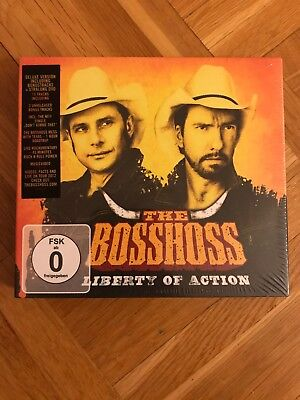 Liberty of Action (Deluxe Edition) von Bosshoss,the | CD | Zustand gut