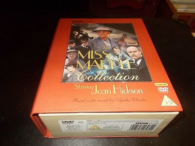 The Miss Marple Collection Starring Joan Hickson DVD, 2005, 12 Disc Box Set BBC