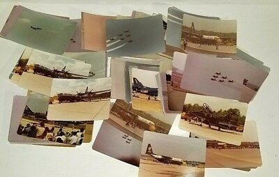 116 Assorted Early 80's Blue Angels Original Airshow Military Pictures