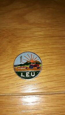 1 Leu Romania 1966 Enamelled Coin / Painted   Great Condition.