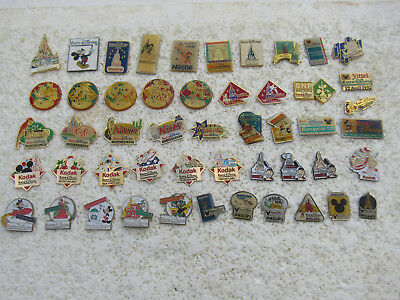 Lot De 50 Pin's Eurodisney