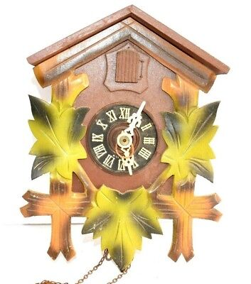 VINTAGE CUCKOO CLOCK - AS IS - FOR PARTS OR RESTORATION -  Made in West Germany