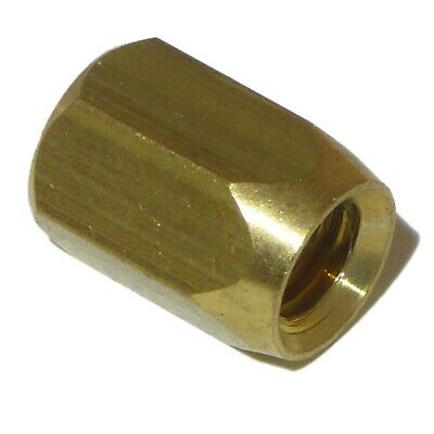 Brass guitar truss rod nut
