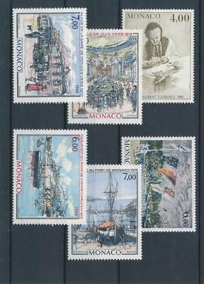 [110056] Monaco Art/Painting good Lot very fine MNH Stamps