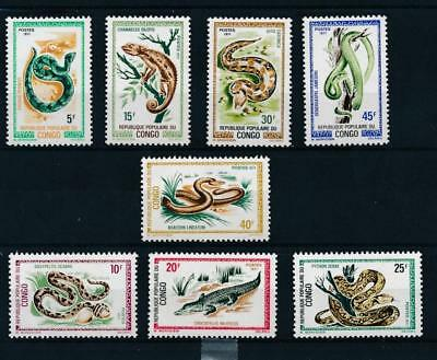 [110063] Congo 1971 Reptiles good Set very fine MNH Stamps