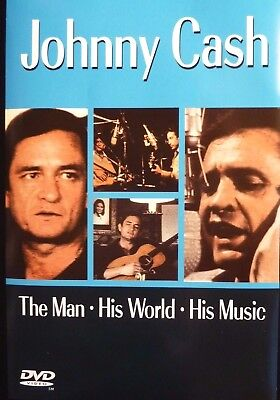 DVD Johnny Cash -The Man, His World, His Music -seltenes Material