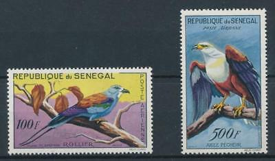 [38242] Senegal Birds Two good airmail stamps Very Fine MNH