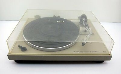 Vintage Pioneer PL-512 Stereo Belt Drive Turntable Record Player