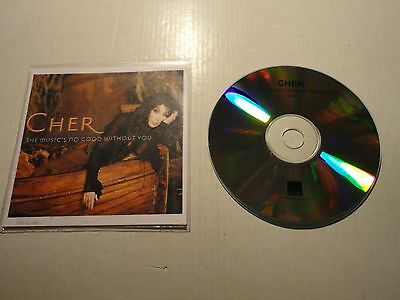 Cher The Music's No Good Without You UK IMPORT ACETATE CD PROMO SINGLE HOUSE POP