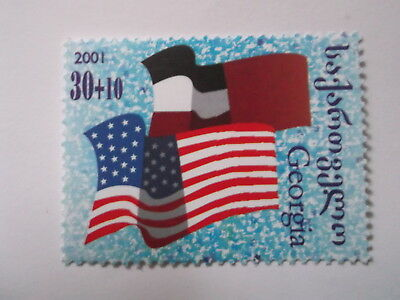 2001 Georgia Support for America afterAttacks unmounted mint Mi.378