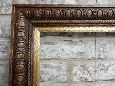"""old picture frame LARGE victorian  fits a 31"""" X  17 inch painting"""