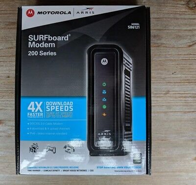 ARRIS SB6121 Surfboard 3.0 Cable Modem GREAT CONDITION & FREE SHIP