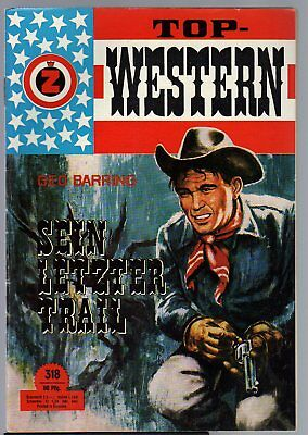 TOP WESTERN EXPRESS 318 / Geo Barring (1962-1975 Indra-Verlag)