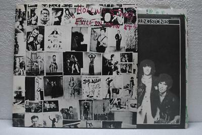 ROLLING STONES / EXILE ON MAIN ST - Japan 2LP