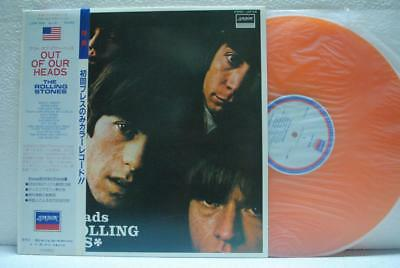 ROLLING STONES / OUT OF OUR HEAD - Japan COLOR w/obi