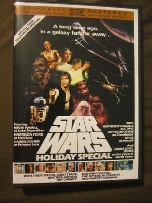 Star Wars Holiday Special 1978 Unreleased DVD. Christmas Life Day! FREE SHIPPING