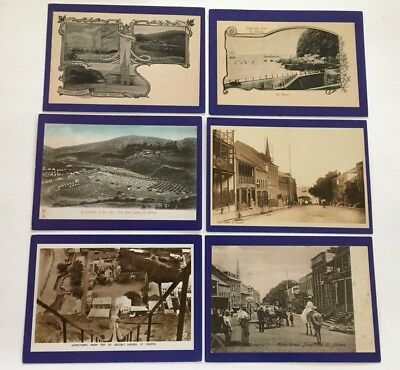 St Helena South Atlantic 8  Postcards Reprodouctions Early 20Th C Baldwin 1988