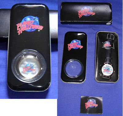 Planet Hollywood Wrist Watch Unisex in Tin MIB never worn No Reserve