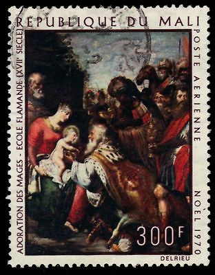 "MALI C112 (Mi254) - Christmas ""Adoration of the Kings"" (pf25614)"