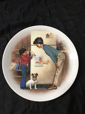 Avon Mothers Day Plate 1985