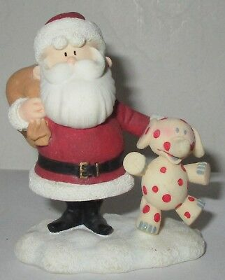 Enesco Rudolph The Island Of Misfit Toys Santa With Elephant Figure 104546A