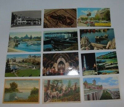 Vintage Antique Postcards CANADA Lot of 54 Great Lot!