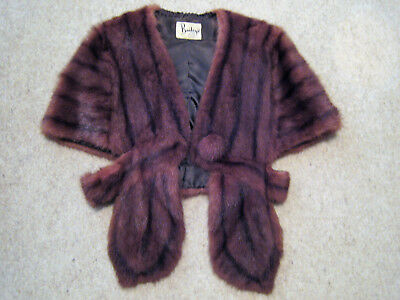Vintage Baileys Of Perth Fox Fur Wrap