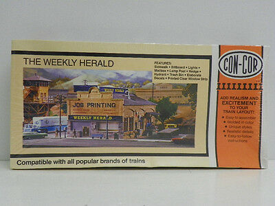 """Con-Cor Ho U/a """"the Weekly Herald"""" Plastic Model Kit #9038 (Factory Sealed)"""