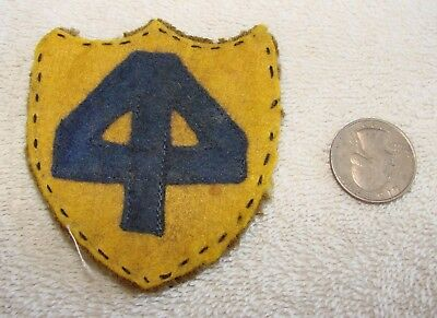 WWI Era US 44th Division Wool Patch - Unusual Variation