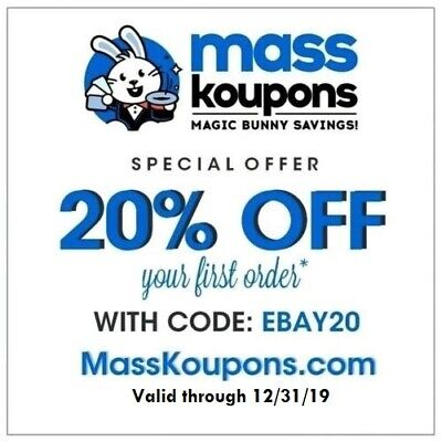 20% off Entire Purchase Coupon at Mass Koupons!