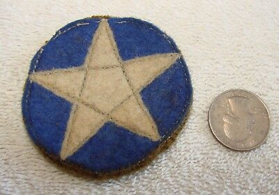 WWI Era US Star (unknown Division) Wool Patch - Wool