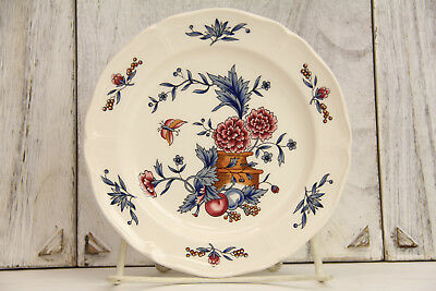 """Wedgwood Williamsburg Potpourri Bread & Butter Plate 6 5/8"""" China Nk510 Mint"""