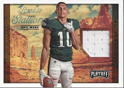 2017 Playoff Rookie Stallions Jerseys Hail Mary #33 Mack Hollins Jersey - NM-MT