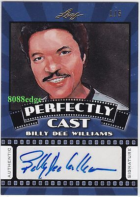 2015 Pop Century Perfectly Cast Auto:billy Dee Williams #1/5 Autograph Star Wars